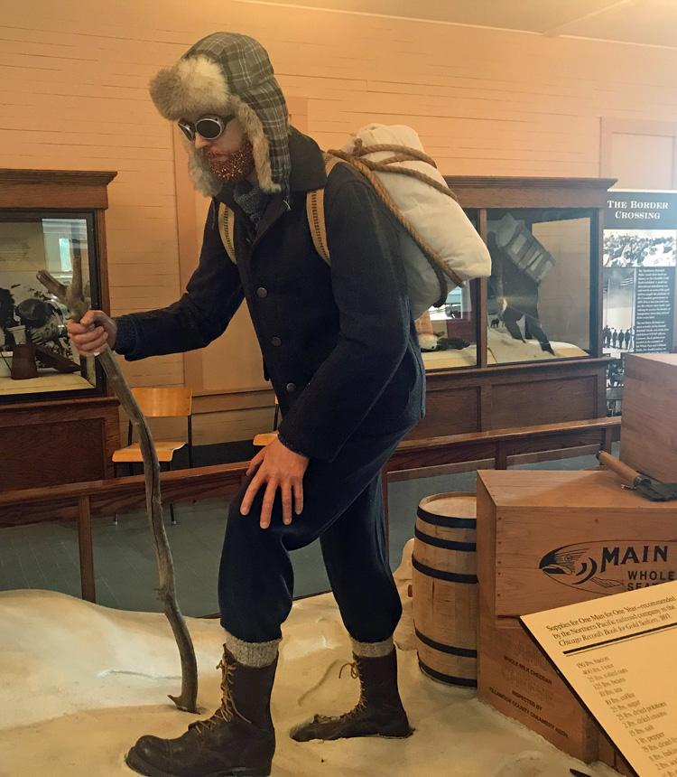 An image of a Klondike Gold Rush prospector