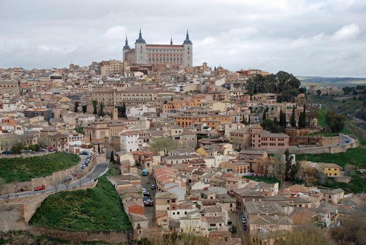 An image of Old Town Toledo, Spain - Trafalgar Tours Europe