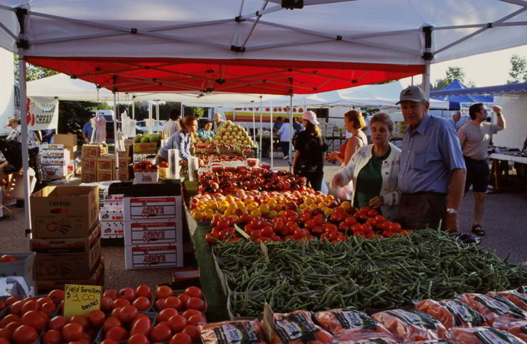 An image of the Red Deer Market in Red Deer, Alberta, Canada.