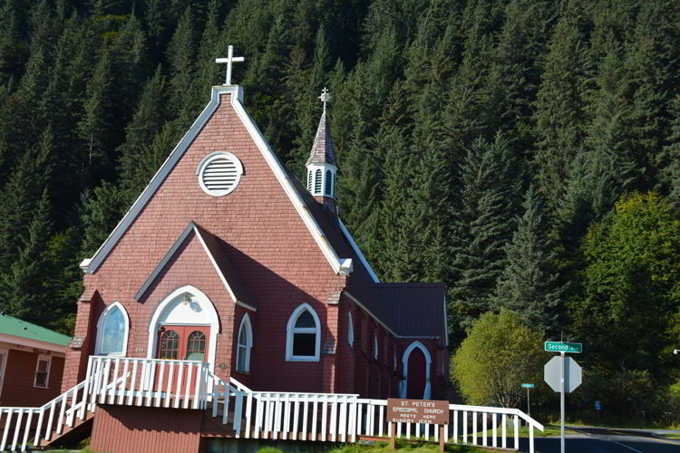 An image of St. Peter's Church in Seward, Alaska USA