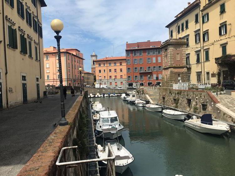 An image of Venezia Nuovo in Livorno, Italy.