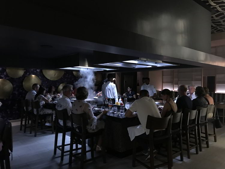 An image of the Japanese restaurant at the Lopesan Costa Bavaro in Punta Cana, Dominican Republic.