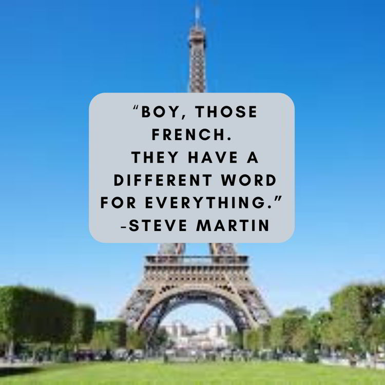 An image with a funny travel quote by Steve Martin.