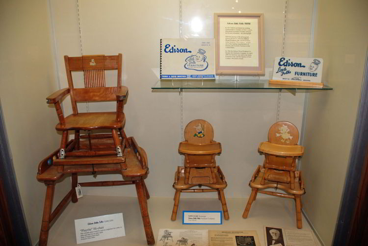 An image of Edison Little Folks Furniture seen at the Ford Edison Winter Estates in Fort Myers, Florida.